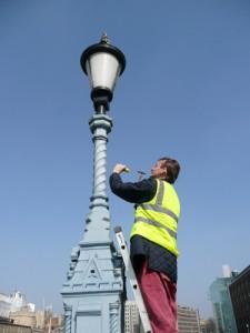 Tower Bridge - Paint Sampling