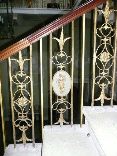 Basildon Park Staircase Balustrade
