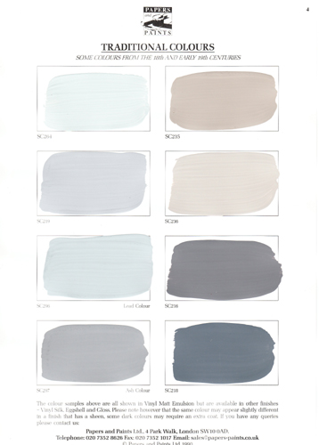 28 Porter Paint Color Fan Deck