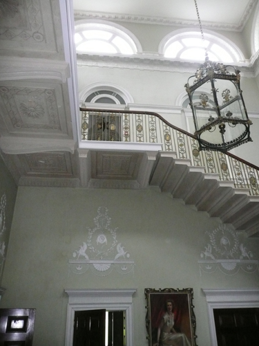 Staircase - West Wall
