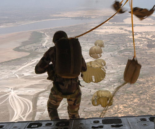 Senegalese Paratroopers