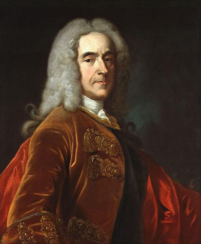 1st Viscount Cobham by Jean Baptiste van Loo