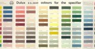 BS 2660 Colour Card