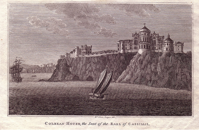 Patrick Baty carried out an analysis of the paint at Culzean Castle, Ayrshire