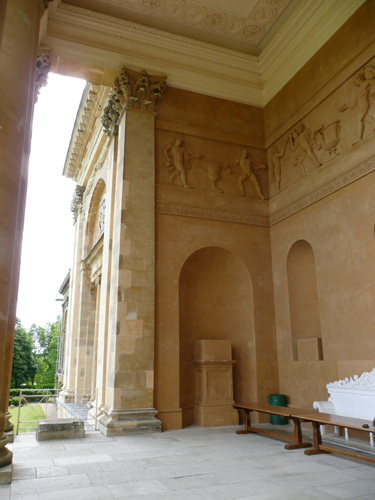Stowe - South Portico