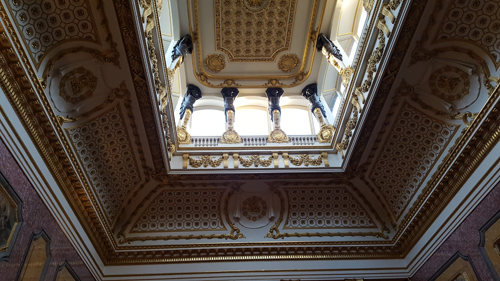 Ceiling and Lantern