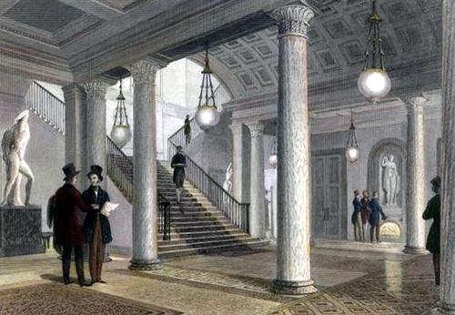 Athenaeum hall 1840