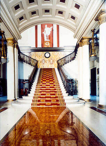 Patrick Baty has carried out much work on the paint and colours at London's Athenaeum Club