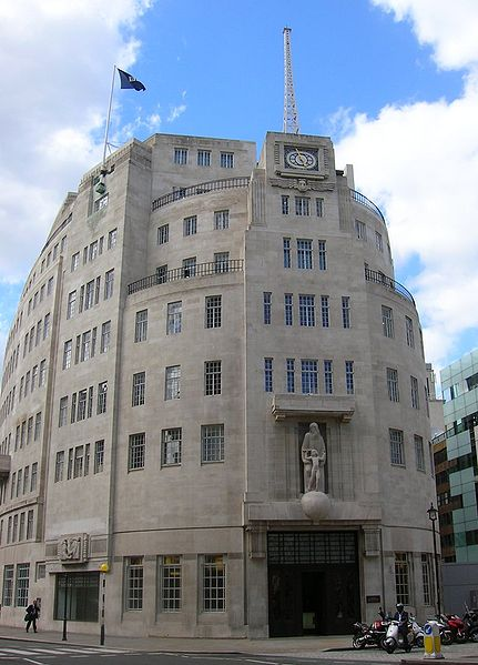 Patrick Baty has carried out paint analysis on the 1930s interiors at the BBC's Broadcasting House
