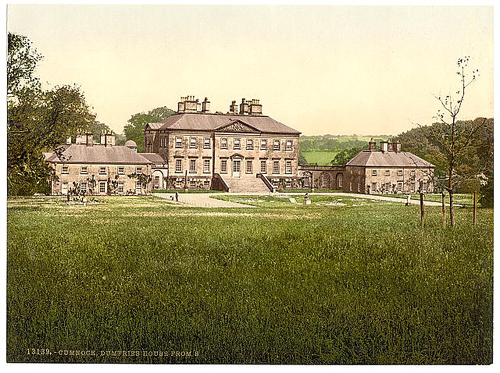 Patrick Baty advised on the Estate colour for Dumfries House