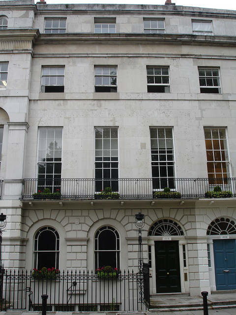 Patrick Baty has carried out a number of paint- and colour-related tasks at the Georgian Group headquarters in Fitzroy Square