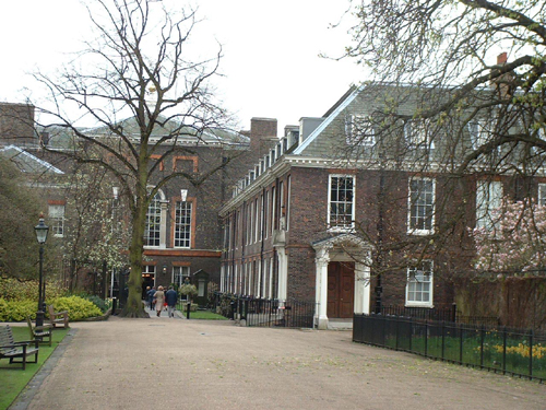 Patrick Baty has worked on both sides of Kensington Palace for many years