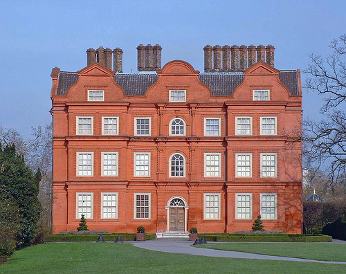 Patrick Baty spent a couple of years working on the major refurbishment project at Kew Palace