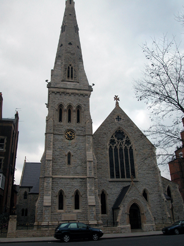 Patrick Baty worked on the restoration of St Yeghiche's Armenian Church