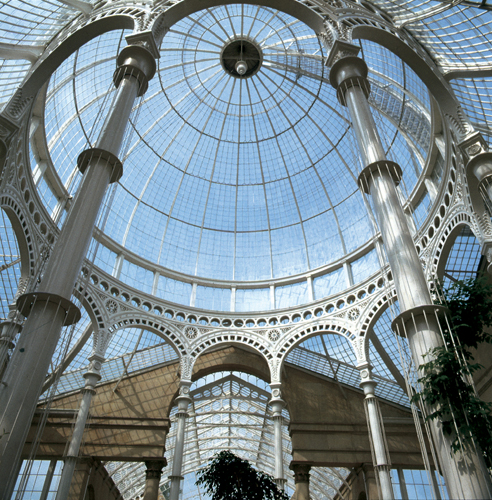 Patrick Baty carried out an analysis of the paint in the Great Conservatory of Syon House