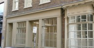 Patrick Baty carried out the paint analysis of the interior and exterior of this house in London's Spitalfields