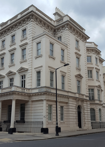 82 Eaton Square - Patrick Baty was asked to advise on the decoration of the interior