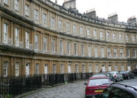 Patrick Baty was commissioned to investigate a number of exteriors in Bath
