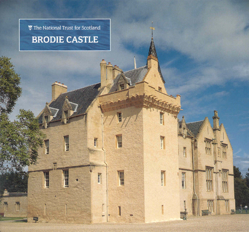 Patrick Baty examined the painted schemes applied to the surfaces in the Drawing Room and the Staircase of Brodie Castle