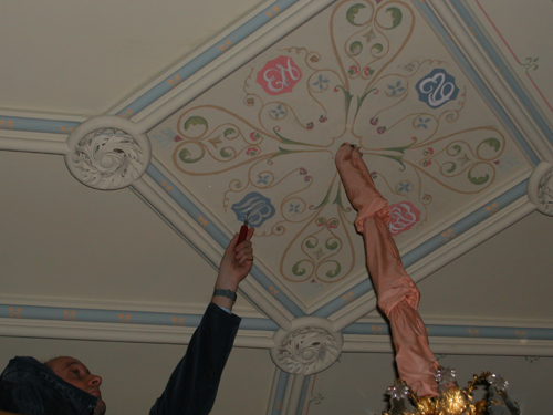 Patrick Baty Sampling Drawing Room Ceiling