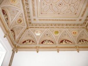 Bentley Priory - Queen Adelaide Room Ceiling