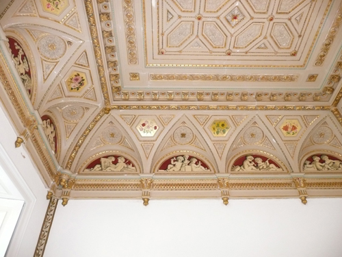 Bentley Priory - Queen Adelaide Room Ceiling
