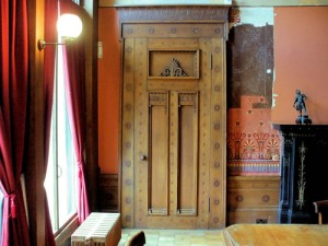 Holmwood House - Dining Room Door
