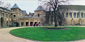 Patrick Baty carried out the paint analysis in the 1930s interiors of Eltham Palace