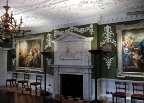 Patrick Baty was commissioned to carry out the paint analysis of the early interiors