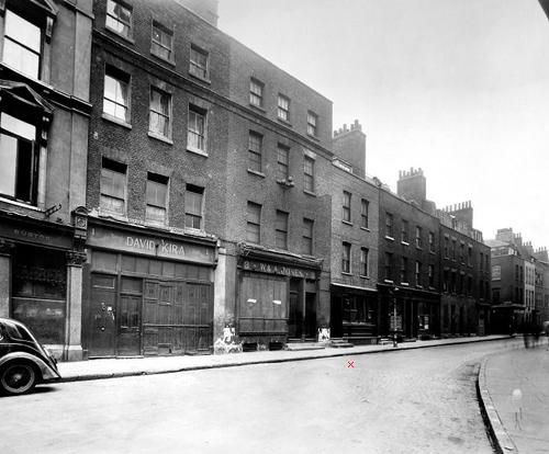 Fournier Street 1946