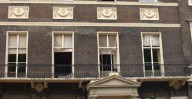 Patrick Baty carried out an analysis of the paint on the exterior oand on the famous staircase