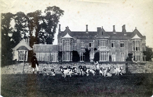 Robert Polhill Bevan and Walden at Cuckfield Park in the early 1880s
