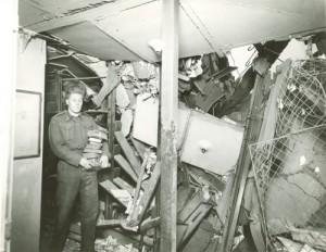 London Library Bombed 1944