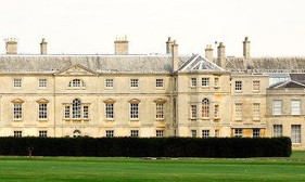 Patrick has been employed to advise on paint colours for the interior of Milton Hall