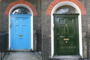 No 18 Bernard Street - before & after my work