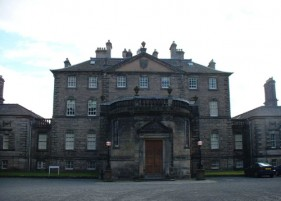 Patrick Baty was commissioned by the National Trust for Scotland to carry out an analysis of the paint on the external railings