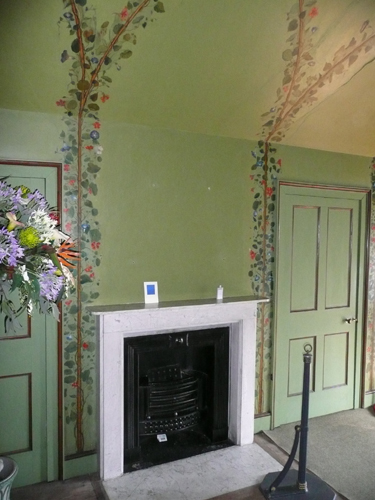 Patrick Baty has undertaken much colour work in Queen Charlotte's Cottage