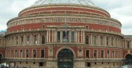 Patrick Baty carried out paint analysis in the Royal Albert Hall