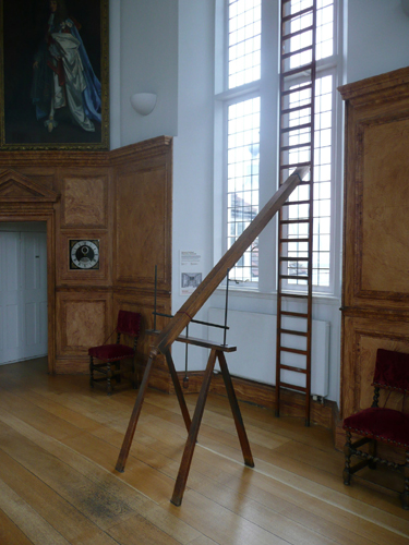 Patrick Baty carried out paint analysis of the Octagon Room of Flamsteed House and advised on decoration