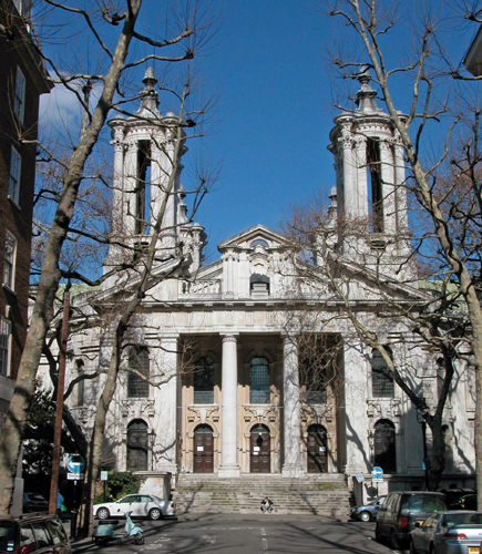 This is one of a number of important Baroque churches in London that Patrick Baty has been asked to advise on