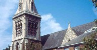 Patrick Baty was asked to provide advice on the decoration of St Saviour's church, Hampstead in London