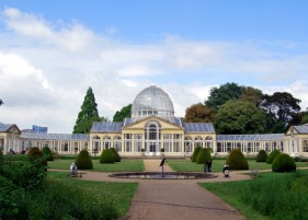 Patrick Baty carried out the analysis of the paint in the Great Conservatory