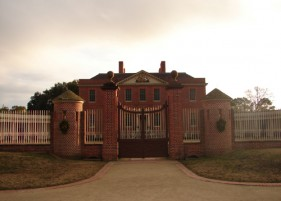 Patrick Baty advised on colours for this recreated Governor's Palace
