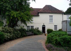 Patrick Baty was asked to provide recommendations for paint type and colour for the interior and exterior of this old manor house in Dagenham, Essex