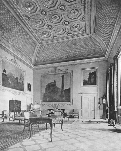 Compton Verney - Hall 1913 © Country Life