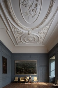 The great drawing room at Great Fulford