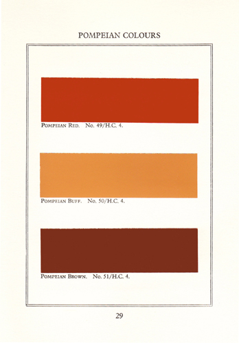 The source of Papers and Paints' Historical Colour Range