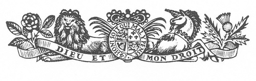 The Royal Arms in the masthead of the Times 1951 - Reynolds Stone