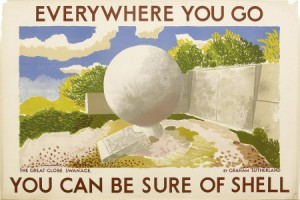 Graham Sutherland - Shell Poster