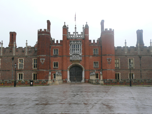 Hampton Court Palace - Gatehouse in Centre
